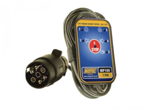 MP180B 7 Pin Towbar Socket Tester 3.5M Cable